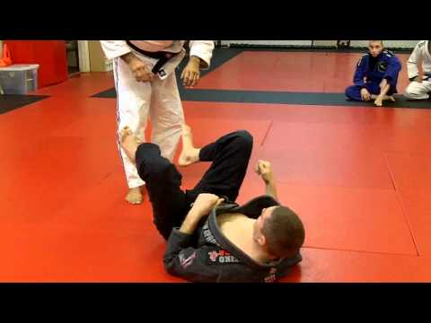 Jiu Jitsu Techniques - Open Guard Pass / Taking the back Image 1