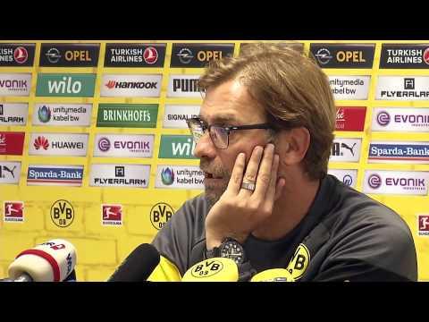 Pressekonferenz: Jürgen Klopp vor dem Heimspiel gegen Hannover 96 | BVB