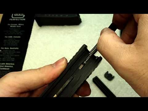 Glock Slide Disassembly & Reassembly