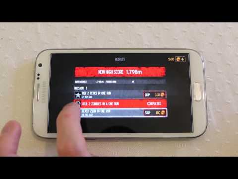 Into the Dead Android Zombie review Galaxy Note 2