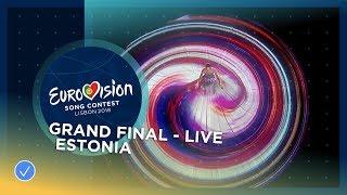 Elina Nechayeva - La Forza - Estonia - LIVE - Grand Final - Eurovision 2018