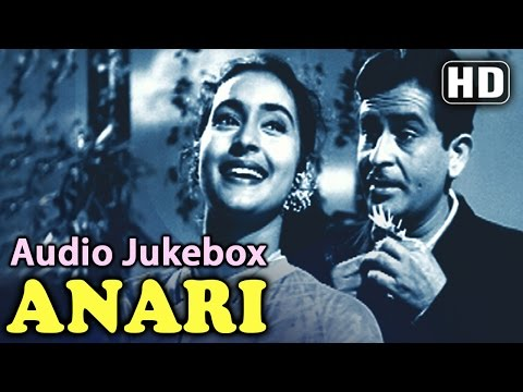 Anari - Songs Collection - Raj Kapoor - Nutan - Lata - Mukesh...