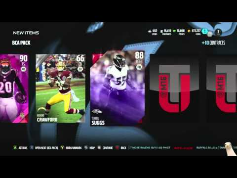 Madden 16 Ultimate Team :: OMG! BEST PULLS OF THE YEAR! ::-XBOX ONE Madden 16 Ultimate Team