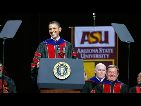 President Obama: Arizona State Commencement Video