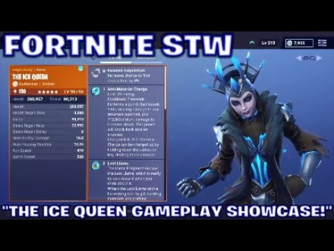 """FORTNITE STW:""""THE ICE QUEEN GAMEPLAY SHOWCASE!"""" MP3"""