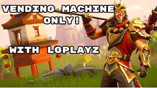 Vending Machine Only Challenge ! Fortnite Battle Royale