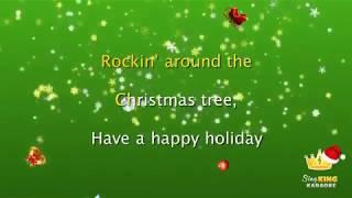 Rockin Around The Christmas Tree Karaoke