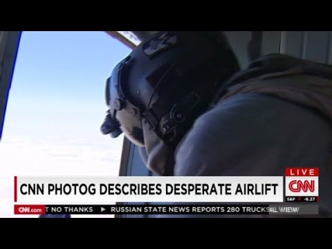 CNN photographer Iraq helicopter rescue.