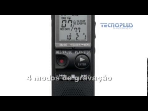 GRAVADOR DIGITAL DE VOZ SONY PX820 PRETO - 14467