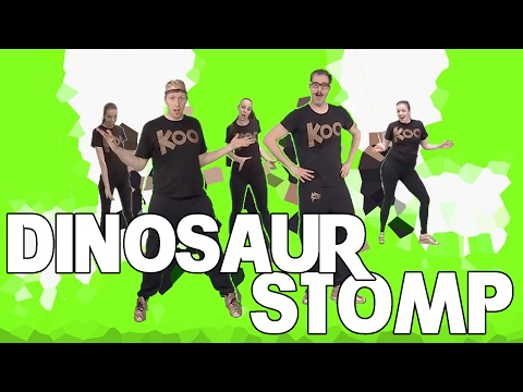 Koo Koo Kanga Roo - Dinosaur Stomp: House Party Dance-A-Long Workout