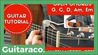 Download Lagu The Middle - Zedd, Maren Morris, Grey // EASY Guitar Tutorial (Open Chords) Gratis STAFABAND