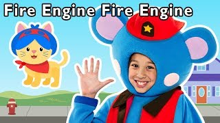 Fire Engine, Fire Engine and More | PATROL PRETEND PLAY | Baby Songs from Mother Goose Club!