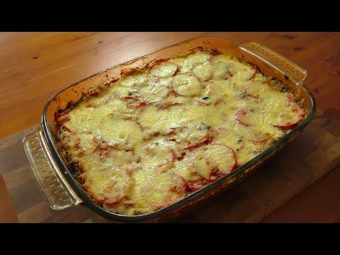 Запеканка из баклажанов с сыром (Parmigiana di melanzane)