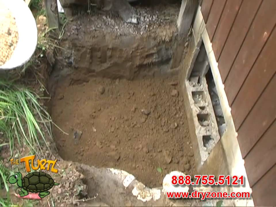 for Building a crawl space