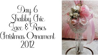 Day 6 of 10 Days of Christmas Ornaments with Cynthialoowho 2012