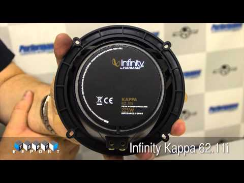 Infinity Kappa 62.11i Coaxial Speaker Review