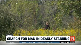 Search for suspect in Muncie fatal stabbing