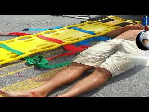 Atendimento Acidente Real - BR 101 Primeiros Socorros