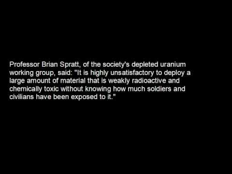 BMJ reported dangers of DEPLETED URANIUM in May 2003 !