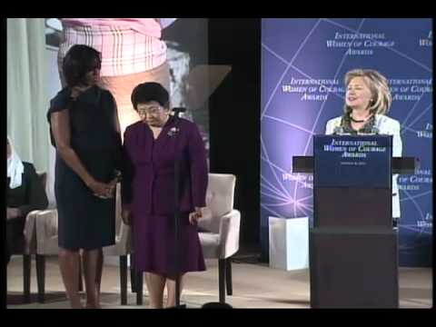 Roza Otunbayeva International Women of Courage Award