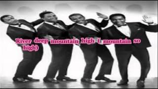 Watch Four Tops River Deep  Mountain High video