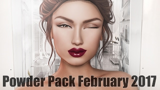 Powder Pack February 2017 - Unboxing Video + Giveaway - Second Life Subscription Box