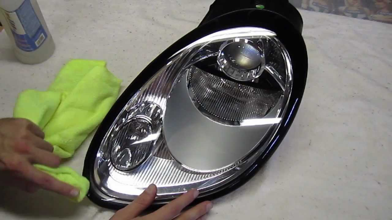 Porsche Cayman Headlight Vinyl Black Out Trim Youtube