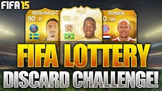 FIFA LOTTERY!!! 90 RATED!?! LEGEND ON THE LINE!!! Fifa 15 Discard Pack Challenge