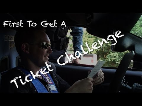 First To Get A Ticket Challenge