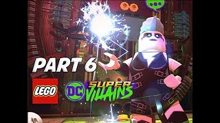 LEGO DC Super Villains Walkthrough Gameplay Part 6 - LiveWire (Let's Play Commentary)