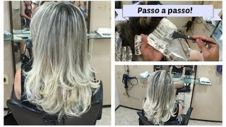 Mechas  platinado em degrade ! HairStyling