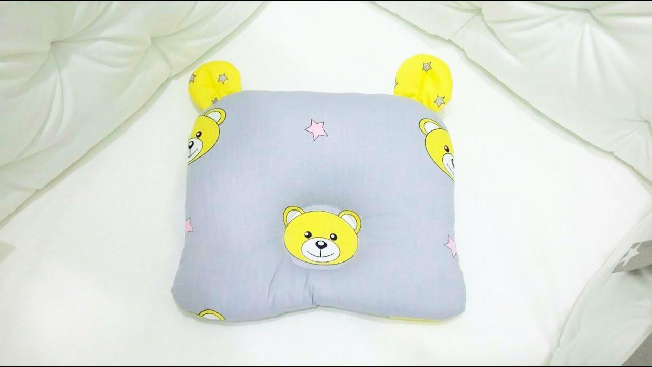 Как сшить подушку для новорожденного своими руками 97