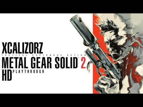 Metal Gear Solid 2 HD Playthrough pt.1