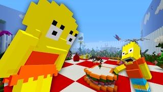 Bart Simpson Shrunk | The Simpsons | Minecraft Xbox [15]