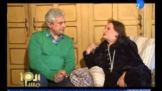 فيديو| العاشرة مساء| مريم فخر الدين .. كنت بخبى الفلوس من محمود ذو الفقار فى الشراب