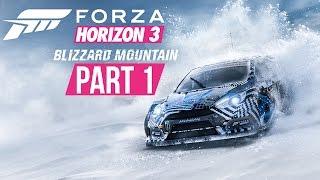 Forza Horizon 3 Blizzard Mountain Gameplay Walkthrough Part 1 - SNOW