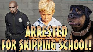 ARRESTING KIDS ONLINE WITH COP MOD TROLLING! (GTA 5 Mods)