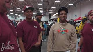 [HAZARDXMEDIA]/ CURREN$Y AT DJ ENVY DRIVE YOUR DREAMS CAR SHOW