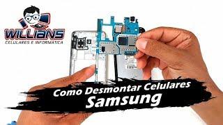 Como Desmontar Celulares Samsung J2, J3, J5, J7, Grand Prime