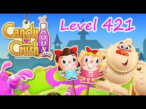 Candy Crush Soda Saga Level 421 (NO BOOSTERS)