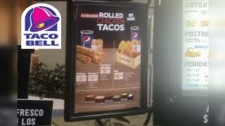 Taco Bell Puerto Rico | Rolled Chicken Tacos REVIEW