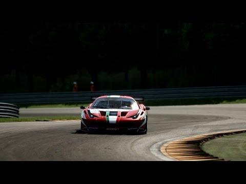 Assetto Corsa - v1.00 RC Spa 458 GT2 SLS GT3 e Shelby Cobra damage visual