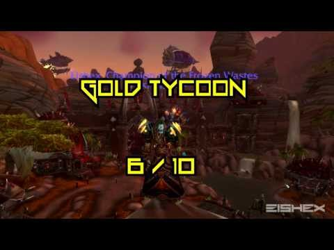 Addon Spotlight: Gold Tycoon - Review and Basics - WoW Patch 5.2 MoP
