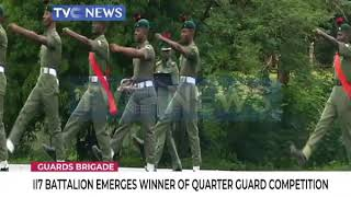 117 Battalion emerges winner of Quarter Guard Competition