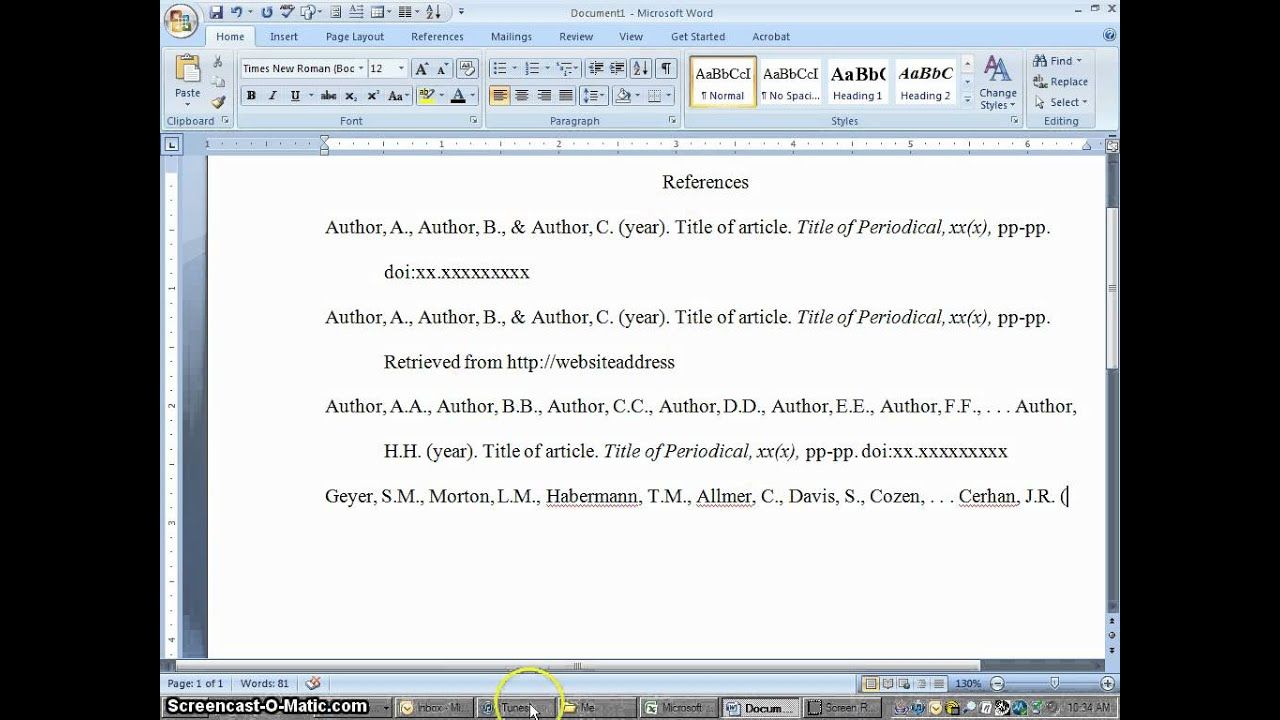 annotated bibliography no author