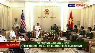 Đô đốc Mỹ Davidson thăm VN: 'Tàu sân bay sẽ đến Khánh Hòa vào tháng 9' (VOA)