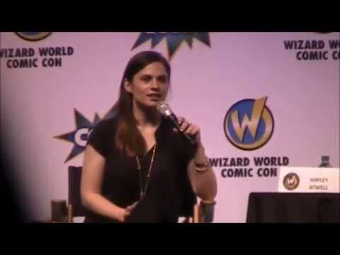 Hayley Atwell Q&A Wizard World Comic Con Philadelphia 2015