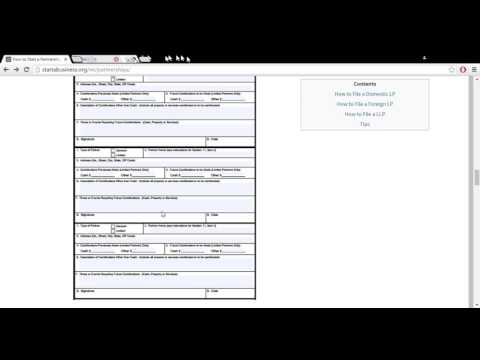 How to Start a Partnership (LP LLP) in Michigan   MI Department of Licensing and Regulatory Affairs