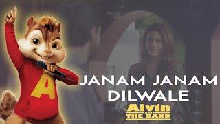"""download lagu """"janam Janam - Dilwale""""  Shahrukh Khan & Kajolchipmunks gratis"""