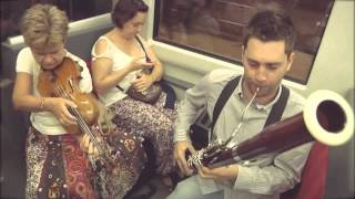 download lagu Al Flashmob On Metro Bilbao By An Orchestra From gratis